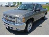 2013 Graystone Metallic Chevrolet Silverado 1500 LT Extended Cab 4x4 #80838301