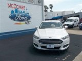2013 White Platinum Metallic Tri-coat Ford Fusion SE #80837862
