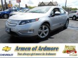 2013 Silver Ice Metallic Chevrolet Volt  #80838082
