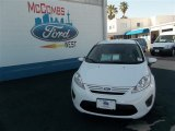 2013 Oxford White Ford Fiesta S Sedan #80837857