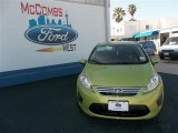 2013 Lime Squeeze Ford Fiesta SE Sedan #80837856