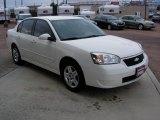 White Chevrolet Malibu in 2007