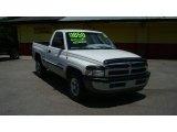 1999 Bright White Dodge Ram 1500 SLT Regular Cab #80838177