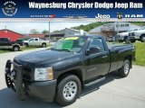 2012 Black Chevrolet Silverado 1500 Work Truck Regular Cab 4x4 #80838061