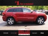 2014 Deep Cherry Red Crystal Pearl Jeep Grand Cherokee Overland 4x4 #80837841