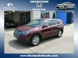 2012 Basque Red Pearl II Honda CR-V EX 4WD #80837919