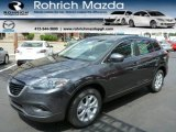 2013 Meteor Gray Mica Mazda CX-9 Touring AWD #80837913