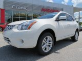 2013 Pearl White Nissan Rogue SV #80838144