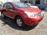 2012 Cayenne Red Nissan Rogue S AWD #80838371