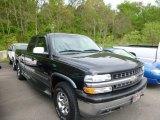 1999 Onyx Black Chevrolet Silverado 1500 Z71 Extended Cab 4x4 #80838014