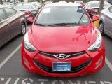 2013 Volcanic Red Hyundai Elantra Coupe GS #80837900