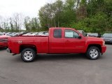 2013 Victory Red Chevrolet Silverado 1500 LT Extended Cab 4x4 #80838004
