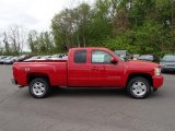 2013 Victory Red Chevrolet Silverado 1500 LT Extended Cab 4x4 #80838003