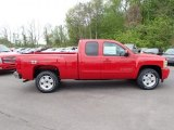2013 Victory Red Chevrolet Silverado 1500 LT Extended Cab 4x4 #80838002