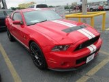2011 Race Red Ford Mustang Shelby GT500 SVT Performance Package Coupe #80837893