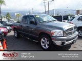 2008 Mineral Gray Metallic Dodge Ram 1500 Big Horn Edition Quad Cab #80838122