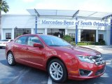 2011 Red Candy Metallic Ford Fusion SEL #80894878