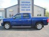 2010 Laser Blue Metallic Chevrolet Silverado 1500 LT Crew Cab 4x4 #80895685