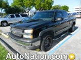 2005 Black Chevrolet Silverado 1500 Z71 Extended Cab 4x4 #80895336