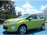 2013 Lime Squeeze Ford Fiesta Titanium Sedan #80894979