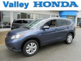 2012 Twilight Blue Metallic Honda CR-V EX-L 4WD #80894861