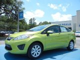 2013 Lime Squeeze Ford Fiesta SE Sedan #80894977