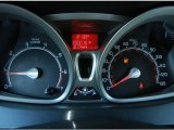 2013 Ford Fiesta Titanium Sedan Gauges