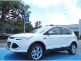2013 White Platinum Metallic Tri-Coat Ford Escape SEL 2.0L EcoBoost #80894966