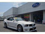 2007 Performance White Ford Mustang GT Premium Convertible #80895075