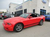 2013 Race Red Ford Mustang V6 Premium Convertible #80895197