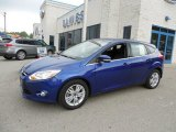 2012 Kona Blue Metallic Ford Focus SEL 5-Door #80895196