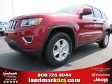 2014 Deep Cherry Red Crystal Pearl Jeep Grand Cherokee Laredo #80895058