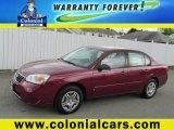 2007 Sport Red Metallic Chevrolet Malibu LS Sedan #80895609