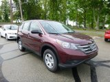 2013 Basque Red Pearl II Honda CR-V LX AWD #80895518