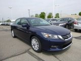 2013 Obsidian Blue Pearl Honda Accord EX-L Sedan #80895517