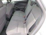 2012 Ford Focus SEL Sedan Rear Seat