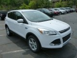 2013 Oxford White Ford Escape SE 2.0L EcoBoost 4WD #80895021