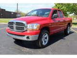 2006 Flame Red Dodge Ram 1500 ST Quad Cab 4x4 #80895380