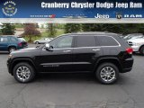 2014 Brilliant Black Crystal Pearl Jeep Grand Cherokee Limited 4x4 #80895000