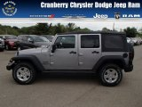 2013 Billet Silver Metallic Jeep Wrangler Unlimited Sport 4x4 #80894998