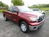 2010 Salsa Red Pearl Toyota Tundra Double Cab 4x4 #80895490