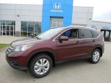 2013 Basque Red Pearl II Honda CR-V EX-L AWD #80895474