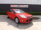2012 Race Red Ford Focus SEL 5-Door #80895347