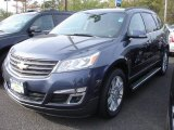 2013 Atlantis Blue Metallic Chevrolet Traverse LT AWD #80948302
