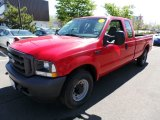 2004 Red Ford F250 Super Duty XL SuperCab #80948435