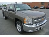 2013 Mocha Steel Metallic Chevrolet Silverado 1500 LT Crew Cab 4x4 #80948489