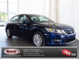 2013 Obsidian Blue Pearl Honda Accord EX Sedan #80948322