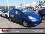 2011 Vortex Blue Pearl Honda Fit  #80948421