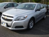 2013 Silver Ice Metallic Chevrolet Malibu LS #80948307