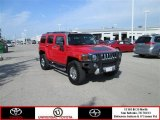 2009 Victory Red Hummer H3  #80965809